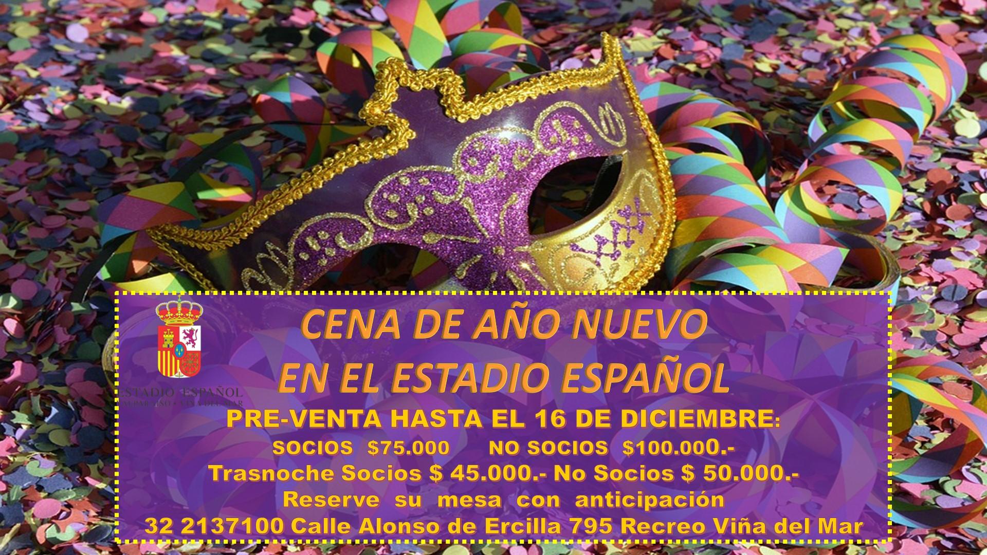 22-2 AÑO NUEVO 2018-2019 MASCARA
