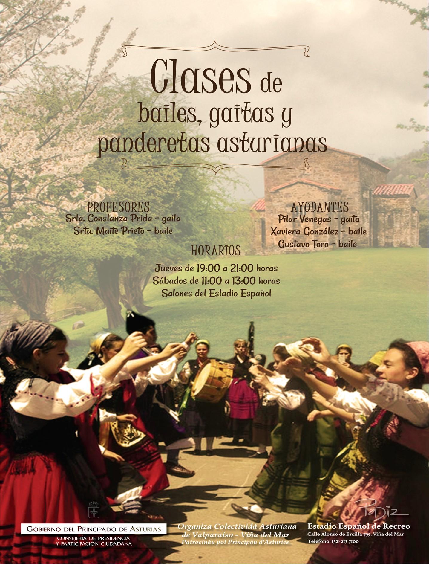 CLASES GAITAS ASTURIANAS EMAIL