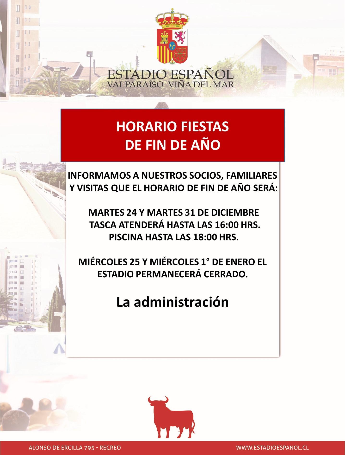 HORARIO FIN DE AÑO 2019 (1)