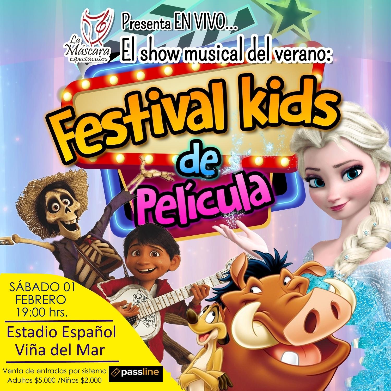 Redes Estadio Festival Pelicula